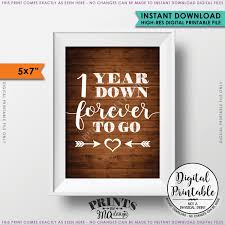 1 year wedding anniversary gift 1 year forever to go wedding anniversary gift wedding gift