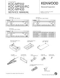 kenwood kdc mp819 kdc x659 kdc z838 service manual download