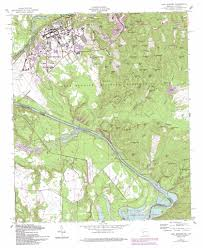 Fort Carson Map Fort Benning Topographic Map Ga Al Usgs Topo Quad 32084c8