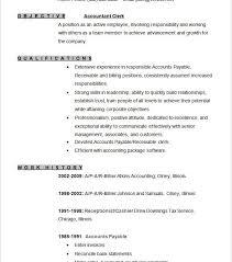 Billing Clerk Resume Sample by Download Accounting Resume Template Haadyaooverbayresort Com