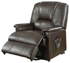 acme furniture acme reseda recliner with power lift and massage