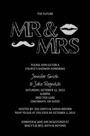 couples wedding shower invitations s wedding shower invitation any colors mustache and