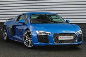 audi r8 blacked out used audi r8 blue for sale motors co uk