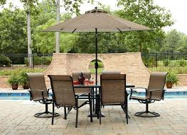 Square Patio Table Outdoor 8 Seater Garden Furniture Sets 8 Person Patio Table 7