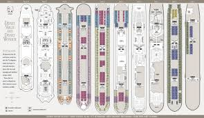 Cruise Ship Floor Plans by Dcl Deck Plans