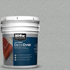 behr premium textured deckover 1 gal sc 365 cape cod gray wood