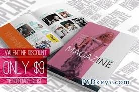 indesign magazine template 23386 free download photoshop vector
