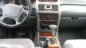 mitsubishi pajero interior 1995 mitsubishi montero information and photos zombiedrive