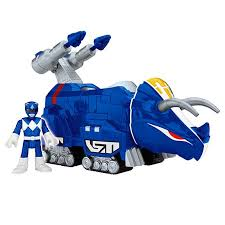 imaginext power rangers blue ranger u0026 triceratops chj09 fisher