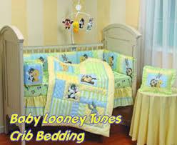 baby looney tunes baby crib bedding set and nursery decor with