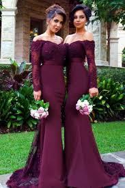 bridesmaids dress burgundy bridesmaid dress on luulla