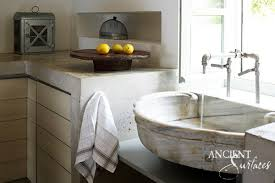 Cool Kitchen Sinks by Shell Marble