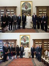 trump pope francis pope francis donald trump viral photo from vatican meeting time