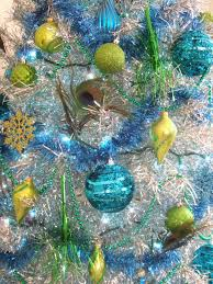 jacobs family blog peacock christmas tinsel tree