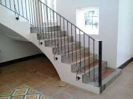 Grills Stairs Design Stair Railing Simple Design Glass Railings Philippines Glass