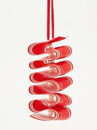 candy ornaments make a ribbon candy twist ornament