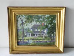 Painting Of House by Nordell Painting Of House