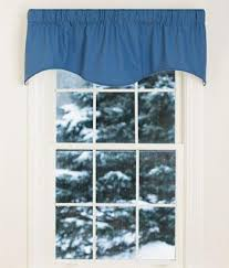 Lined Cotton Curtains Cotton Duck Lined Scalloped Shaped Valances And Window Toppers