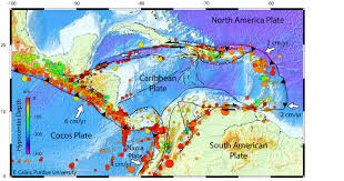 World Map Caribbean by Multimedia Gallery The Seismotectonic Context Of Earth U0027s