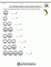money worksheets for kids decimal and fraction worksheet graduated