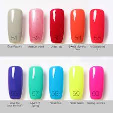bling uv gelpolish focallure 80 gel color nail polish fashion mood