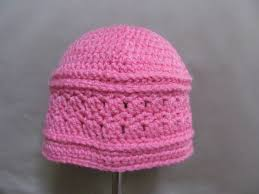 crochet band crochet hat with decorative band 12 to 24 months