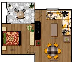 photoshop rendered floorplan workman design lab