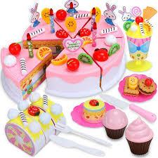 anniversaire cuisine bricolage gâteau aux fruits 87 pcs ensemble batterie de cuisine