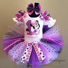 black minnie mouse birthday party tutu
