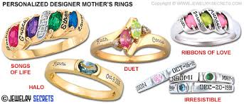 mothers ring with names designer s rings jewelry secrets