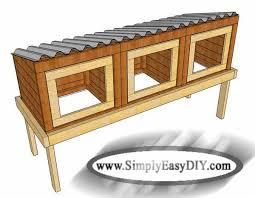 Build Your Own Rabbit Hutch Plans Simply Easy Diy Diy Rabbit Hutch