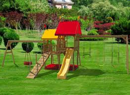 play mor 415 hours of fun wooden swing sets wooden swingsets
