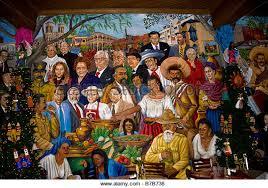 mi tierra restaurante con historia mi tierra mural imágenes de stock mi tierra mural fotos de stock