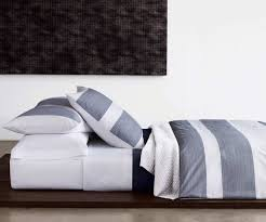 Design Calvin Klein Bedding Ideas Noble Calvin Klein Pinstripe Navy Bedding At Dotmaison Pinstripe