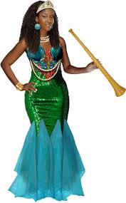 mermaid halloween costume for adults