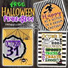 halloween prints to add some fun to your halloween decor inkhappi