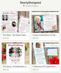 unique funeral programs funeral memorial service program obituary in remembrance of