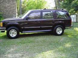 Ford Explorer Lifted - 1994 ford explorer information and photos zombiedrive