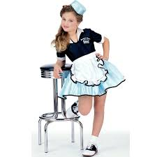 halloween costume ideas australia car hop child costume 1950s fancy dress costumes and