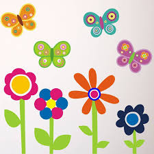 28 flower and butterfly wall stickers flowers and flower and butterfly wall stickers flowers and butterflies wall stickers by mirrorin
