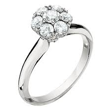cluster engagement ring f1112 jabel jewelry