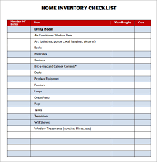 10 best images of home asset inventory templates home inventory