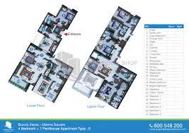 burooj views tower floor plans