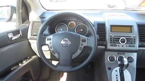 nissan sentra blue 2009 nissan sentra blue stock 12681p interior youtube