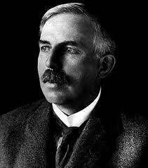 """Ernest Rutherford, """"The Father of Nuclear Physics""""."""