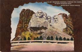mt rushmore mt rushmore postcard roundup