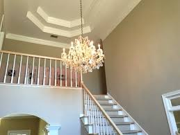 Chandeliers For Foyer 2 Story Foyer Chandelier With What Is The Best Size For A In Two