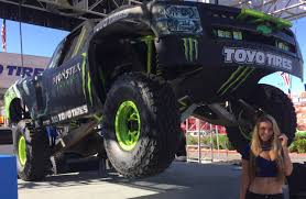 chevy baja truck street legal bj baldwins trophy truck walk through tour sema 2014 youtube