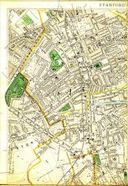 Canterbury England Map by Walworth History Guide