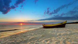 tranquility beach ocean tranquility sunset beach boat oceans beautiful